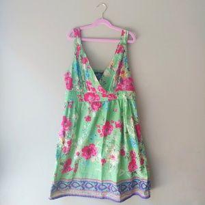 Angie Floral Midi Dress